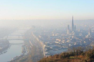 Alerte à la pollution aux particules en Haute-Normandie.