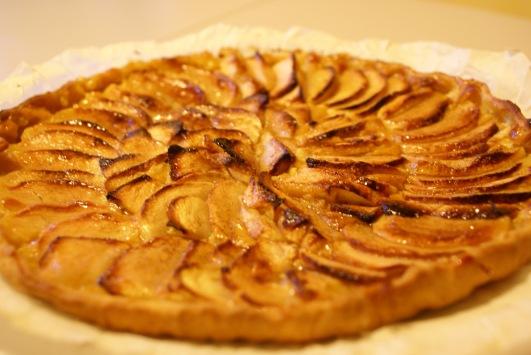 Tarte-aux-pommes-Crème
